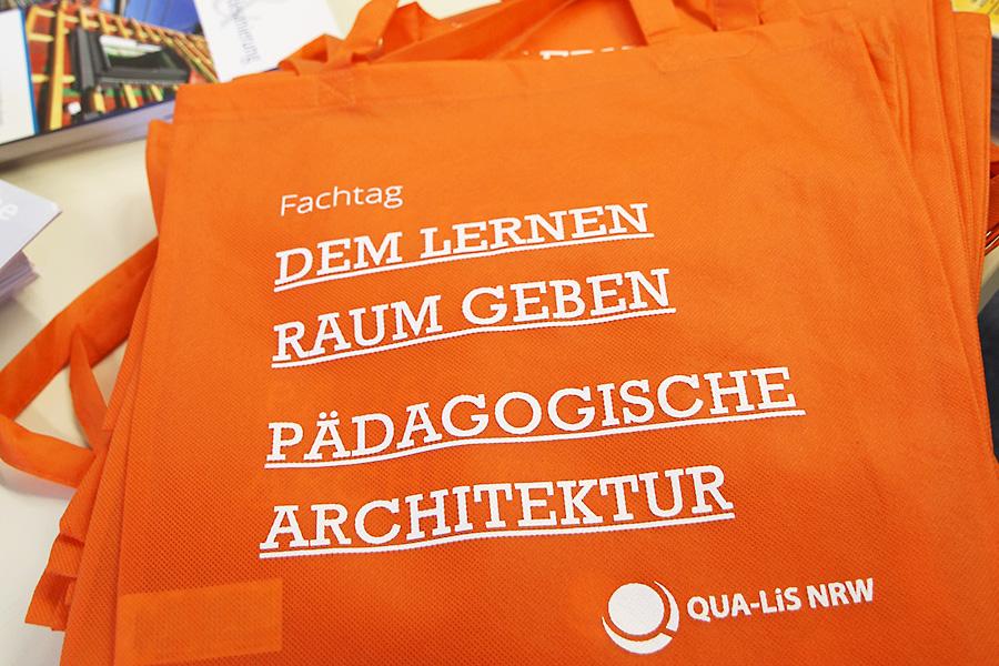 Abbildung Jutetasche Fachtag Pädagogische Architektur
