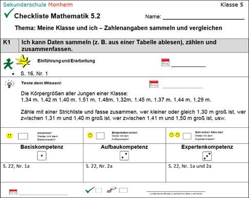 Nett Mathe Praxis Einer Tabelle 6Klasse Fotos - Mathe Arbeitsblatt ...