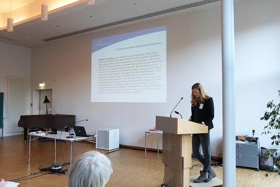 Vortrag von Dr. Anja Steinbach, Carl-von-Ossietzky-Universität Oldenburg