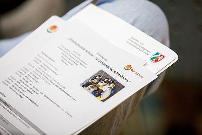 Foto eines TAgungsprogramms