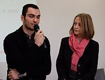 Gisela Steinhauer im Gespräch mit Omar Meslmani
